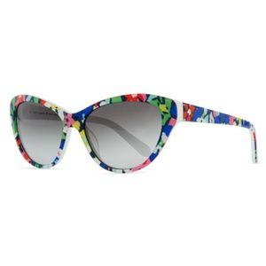 LIKE NEW | kate spade | Della Floral Sunglasses